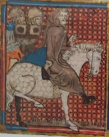 Peter der Einsiedler zieht mit den Kreuzfahrern ins Heilige Land.